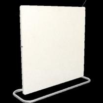 Climastar Smart Pro 3in1 1000W Elektromos kerámia hőtárolós fűtőpanel, Fehér Kasmír - Bontott