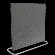 Climastar Smart Pro 3in1 2000W Elektromos kerámia hőtárolós fűtőpanel, Fekete Pala